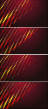 简约大气的光线红色背景视频素材
