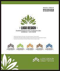 商业服务团队创意标志设计
