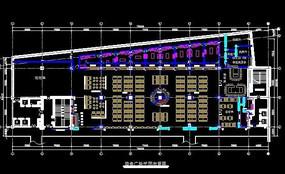 广场平面图CAD