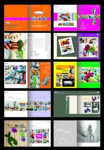 运动休闲用品宣传画册设计