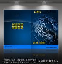 蓝色地球空间科技封面设计