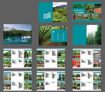 苗木产品宣传创意画册模板设计