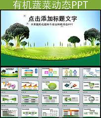 农药化肥水果蔬菜农业种植PPT模板