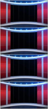 虚拟演播室直播间动态背景