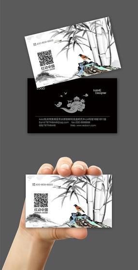 中国风时尚名片设计