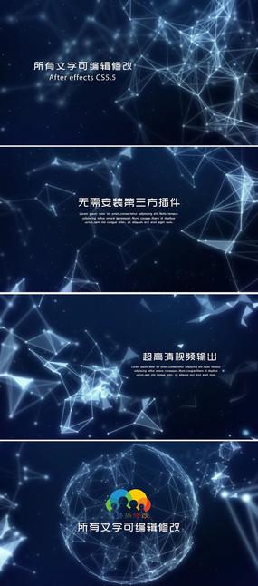 科技背景视频