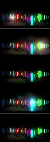 高清动感舞台灯led视频
