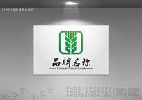 绿色生态农业logo