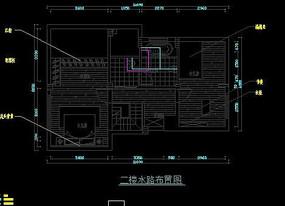 二楼水路布置图