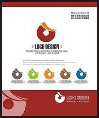 金融投资理财时尚现代标志设计