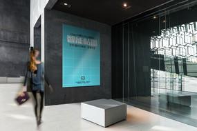 门前海报VI展示智能贴图