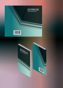 时尚个性简历笔记本书籍封面模板