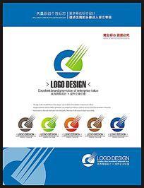 现代科技网络IT企业标志logo设计