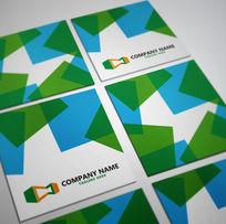 卡片设计智能psd模板