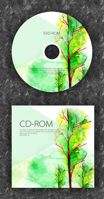欧美风音乐流行音乐CD光盘设计