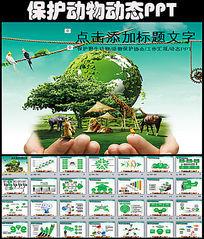 野生动物保护协会动态PPT模板