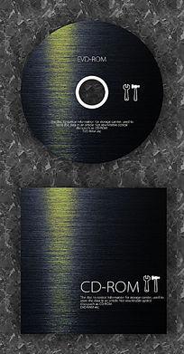 金属前卫时尚CD光盘设计