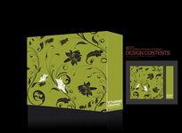 绿色时尚流行素材礼品包