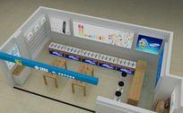 手机专卖店展厅设计3D模型素材资料