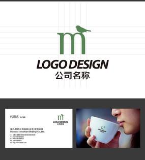 M字母LOGO标志设计