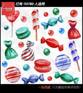糖果矢量图