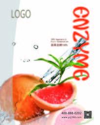 红心柚酵素创意海报