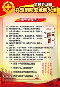 公司消防安全宣传栏