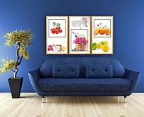 水果花卉装饰画