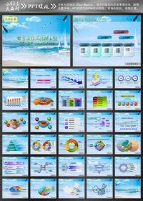 海洋企业ppt设计模板