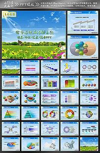 绿色科技ppt模板