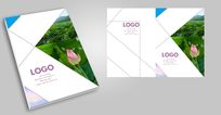 旅游摄影封面创意旅游宣传册封面设计