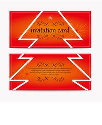 圣诞节红色贺卡