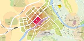 房地产区位图
