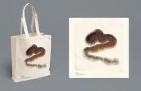 水墨手拎袋