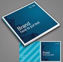 科技质感方形封面设计图片