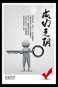 企业文化成功之钥展板