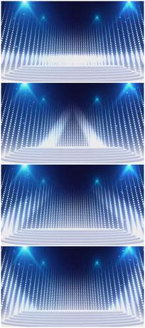 震撼大气的蓝色led舞台背景视频素材