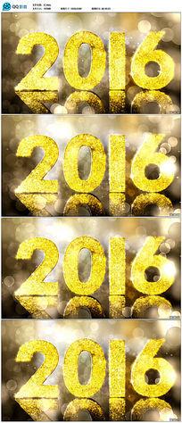 2016新年视频素材