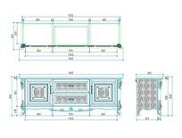 欧式电视柜CAD素材