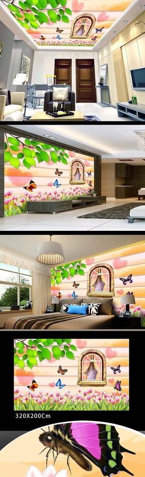 现代装饰墙画