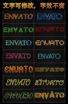 英文字体图案