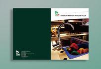 厨具宣传册封面封底