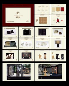 高档房地产广告VI设计