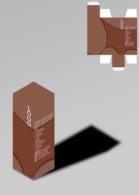 简洁风格保健品包装盒