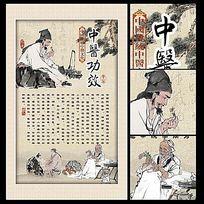 中医功效文化海报