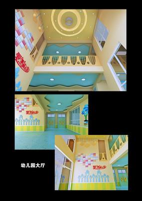 大厅走廊模型