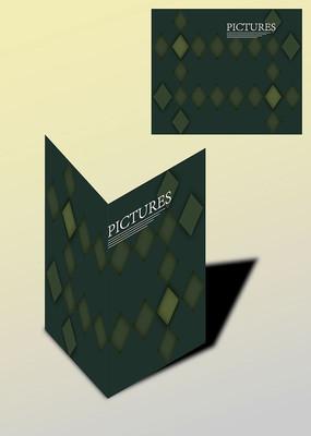 菱形设计创意书籍画册封面