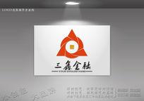 三鑫金融logo设计