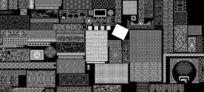 CAD建筑室内装饰图库雕花板欧式花纹
