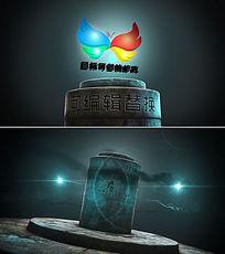 三维立体logo片头模版